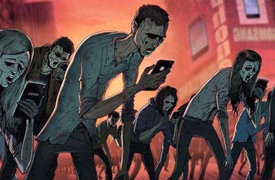 Smombie apocalypse -- don't be a smombie
