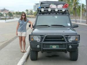 Angela Land Rover