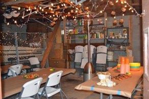 The garage set-up