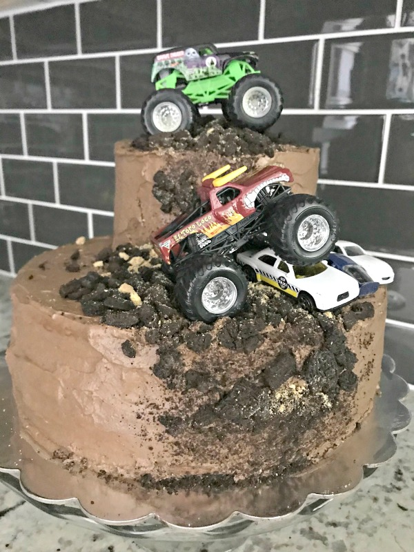 monster truck birthday party