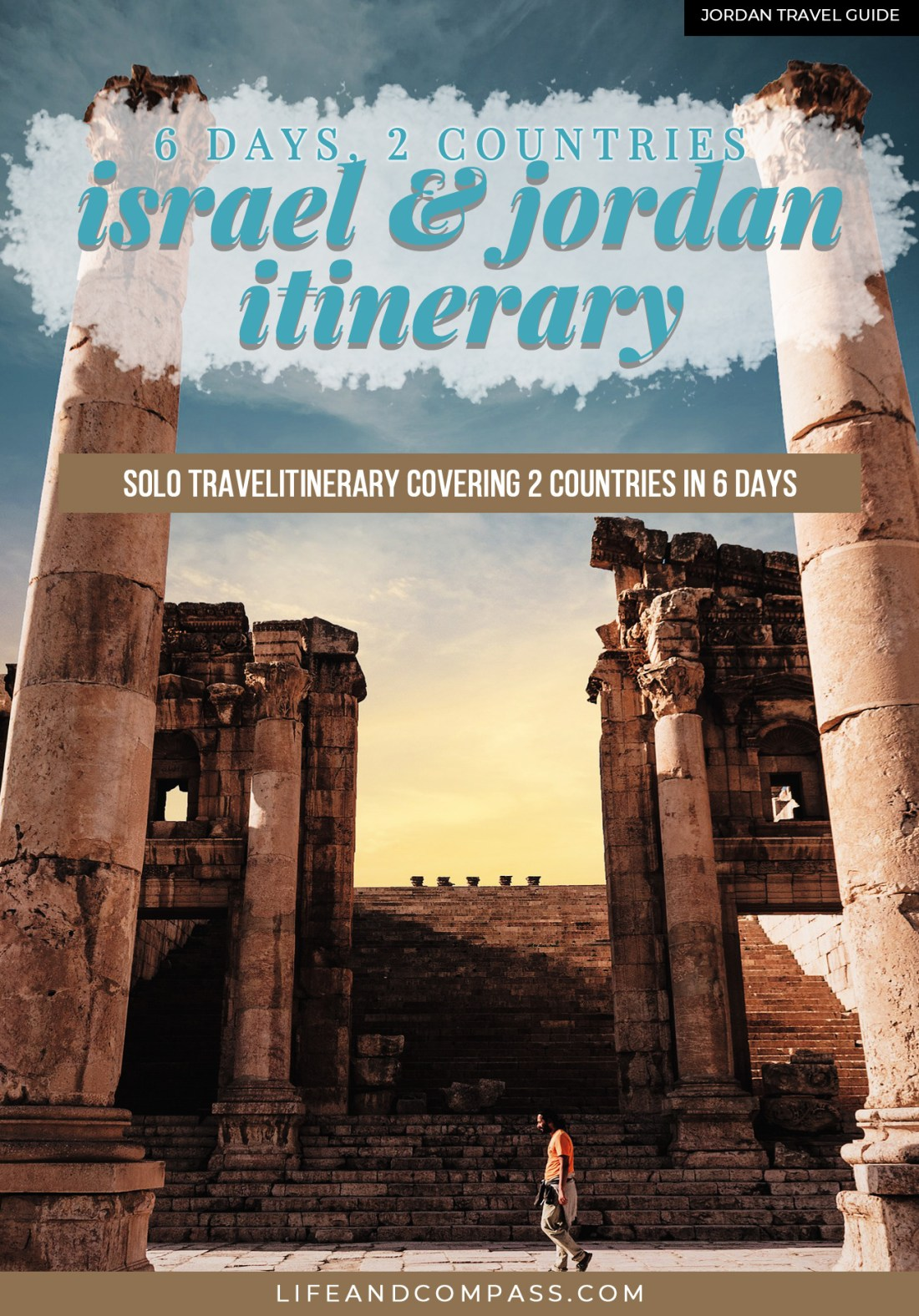 An Israel to Jordan itinerary is common given the country's proximity so here's my Israel to Jordan itinerary: 6 days, and a budget of $1000!