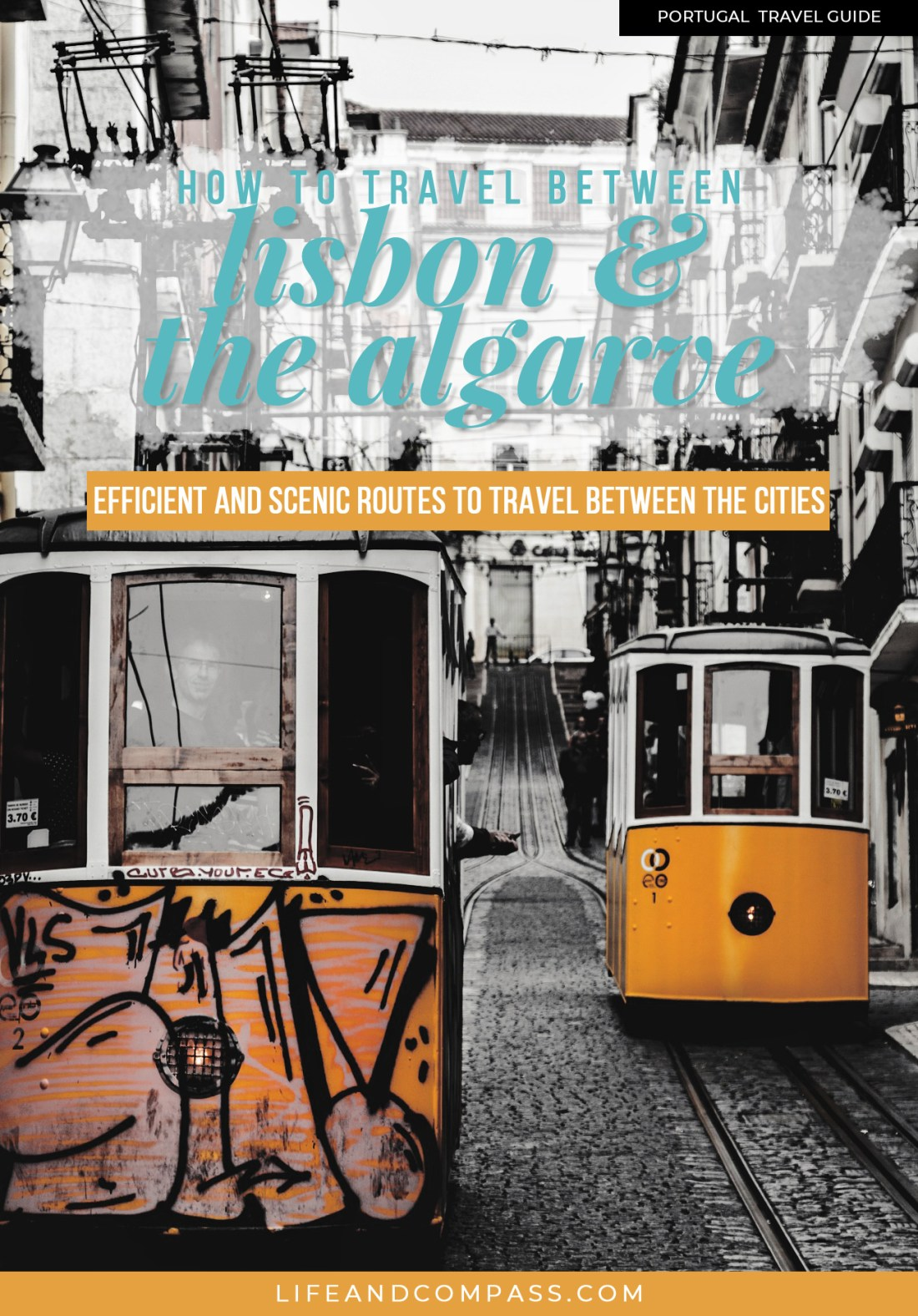 You can make visiting the Algarve region from Lisbon as a day-trip or over the course of several days. If you have the time, I would highly suggest that you stay over a few days because there's just so much to see and do! Here are 3 budget options for when you're planning your trip to visit the Algarve!