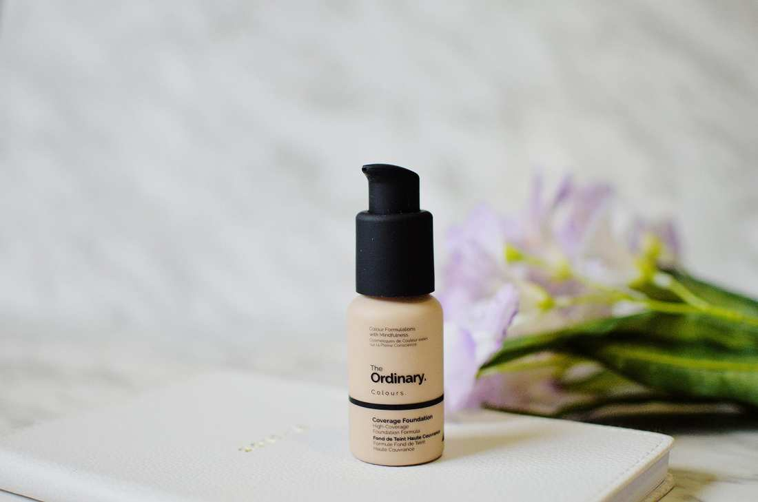 The Ordinary Coverage Foundation claims to be a high coverage foundation with great / quality wear. The range has 21 shades which I think is very diverse.