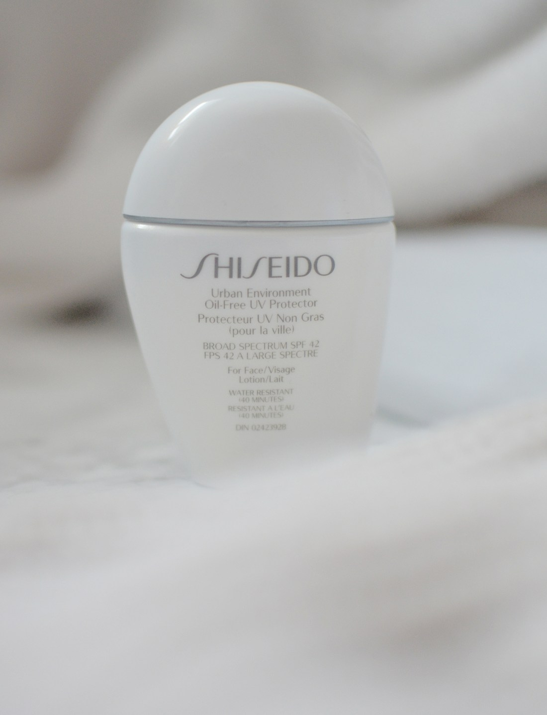 New for the summer is the Shiseido Urban Environment Oil-Free UV Proctector which is meant to protect the skin from pollution in addition to the sun.
