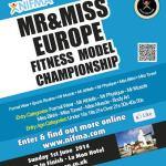 Sunday 1st June 2014 NIFMA Mr & Miss Europe Championships