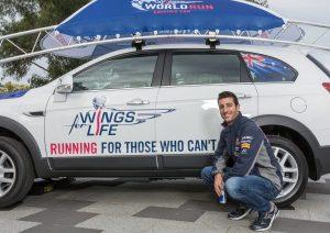 Daniel Ricciardo wings for life app