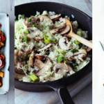 Mushroom recipes for National Vegetarian Week 18th May to 24th May