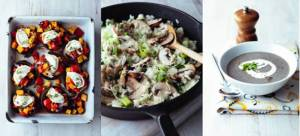 Mushroom recipes for National Vegetarian Week 18th May to 24th May