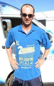 Dave Alley has 6,000 kilometres behind him in Race Around Australia