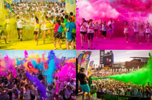 World's most colourful run comes to Galway - Run or Dye announce Galway, Lough Cutra Castle 5km event
