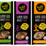 All natural Super Seed Snacks from Good4U packs a powerful punch of nutrients on the go