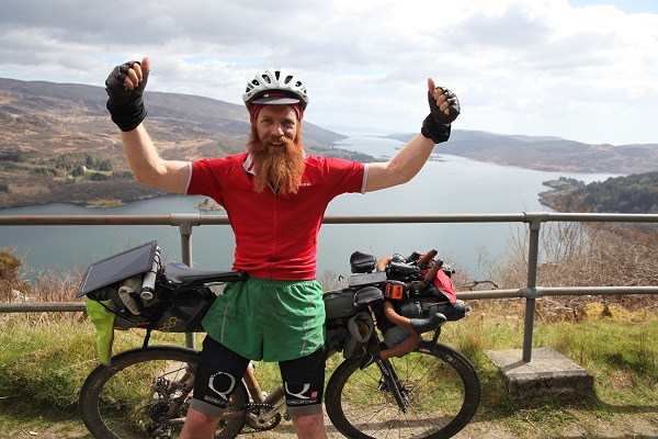 Extreme adventurer Sean Conway