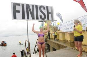 Frances Thornton Memorial Galway Bay Swim in aid of Cancer Care West