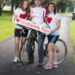 Sean Kelly launches the Irish Heart Foundation 4th annual Tour of the Midlands Cycle