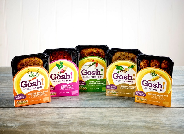 Gosh vegan food 5 pack