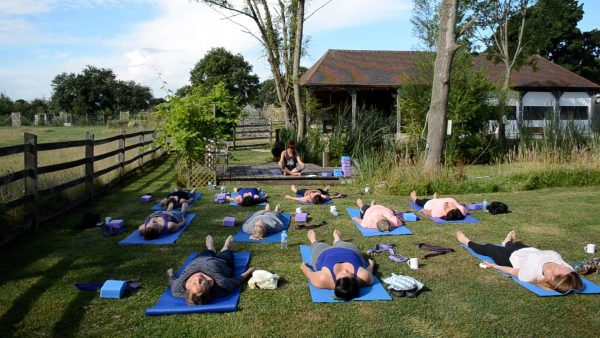 Green Farm Kent yoga retreat