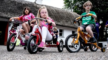 Tour de Munster 2017 is ready to hit the road for Down Syndrome Ireland and individual beneficiaries, and encourage locals to give them that extra push