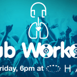 The Club Workout – that are fitness classes In a club with a live DJ. Fitness instructor Carrie Small Plate has teamed up with one of Galway's finest DJs, Cyril Briscoe