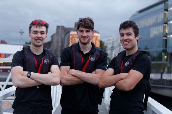 Sean Underwood, Patrick O Connor and Eoin O Farrell to row across Atlantic