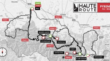 The Haute Route Alps and Haute Route Pyrenees challenge riders with new courses for 2018