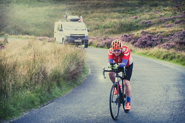 Eiríkur Ingi Jóhannsson of Iceland in the 2017 Race Around Ireland.