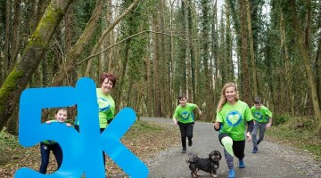 Run to Remember Aoibhe at the 2018 Renville Challenge
