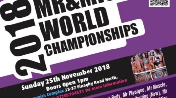3 Weeks Out NIFMA Mr & Miss WORLD Fitness Model Championships