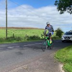 Pierre Bischoff leading Race Around Ireland on Tuesday