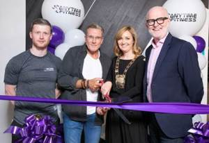 Kevin Butler, Paul Byrne, Vicki Casserly and Gar Holohan, pictured at the official launch of the new Anytime Fitness Gym in Clondalkin
