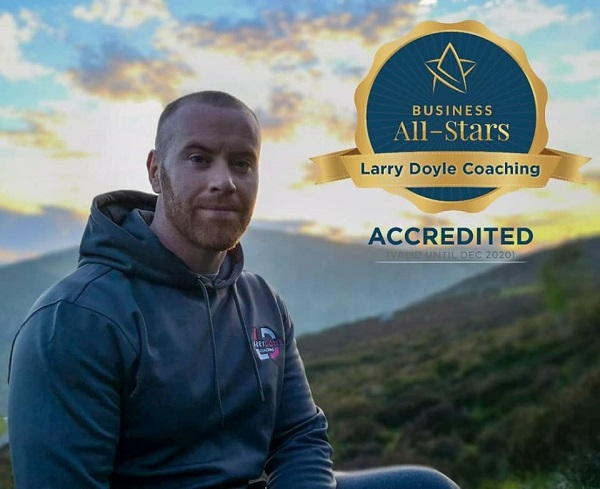 Online fitness business Larry Doyle Coaching wins prestigious Business All Star Accreditation