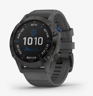 garmin fenix 6 solar watch