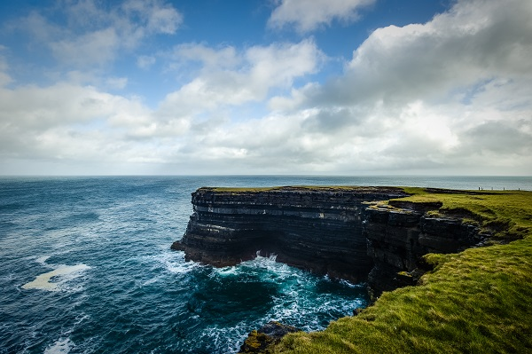 Downpatrick Head (Mayo) will welcome the world's elite cliff divers to its Wild Atlantic waters for the spectacular Red Bull Cliff Diving World Series, available to watch live on Red Bull TV on September 12. Mandatory Credit ©INPHO/Red Bull Content Pool/Laszlo Geczo