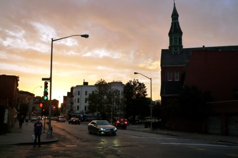 Catching the Sun Setting in Williamsburg