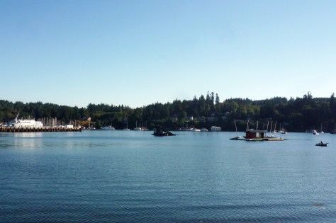 Quiet, Still Waters off Bainbridge Island