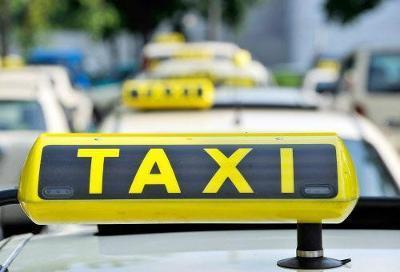 Guidelines for cab operators framed