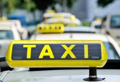 Guidelines for cab operators framed