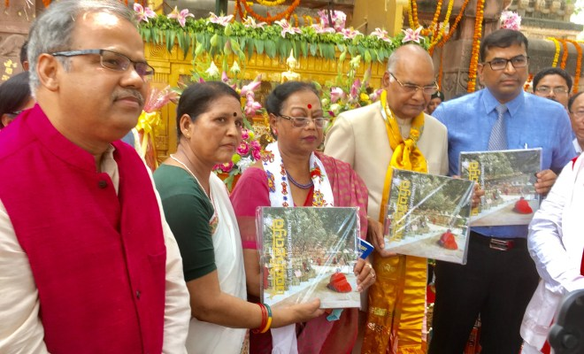 Book on Bodhgaya released