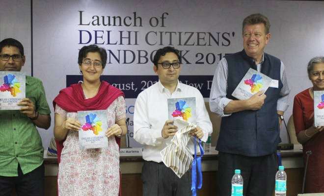 Delhi Citizens' Handbook 2017 released