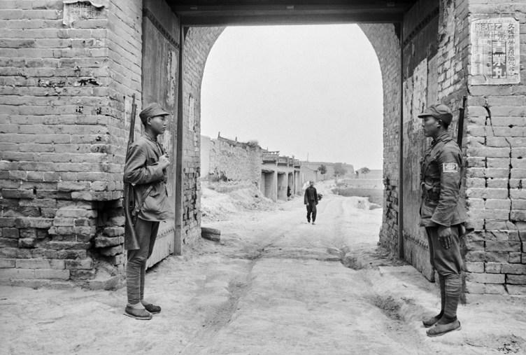 Stadttor von Yan'an, Eingang zur Roten Hauptstadt Chinas, 1938