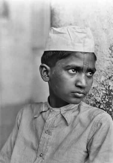 Brahmanen-Sohn, Muttra, 1930