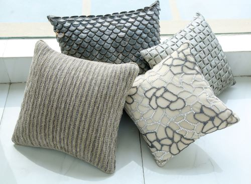 Customised cushions by Window Passions