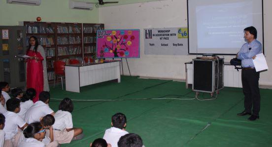 Workshop @Bal Bhavan International School