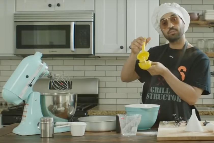 Diljit flaunts culinary skills