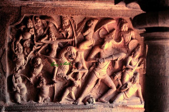 The masterpiece of Mamallapuram