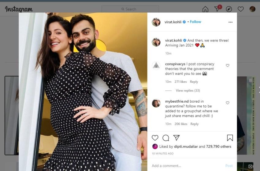 Virat-Anushka to be parents soon
