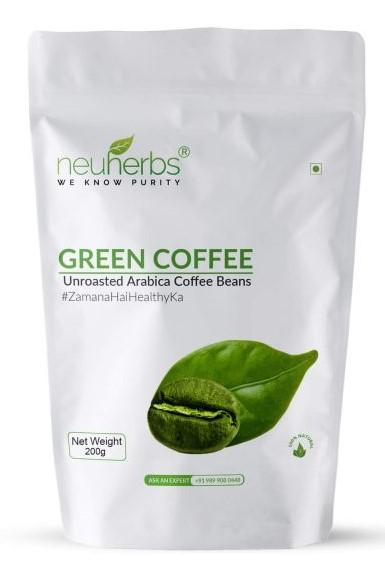 Natural, fresh Neuherbs Unroasted Arabica Coffee Beans
