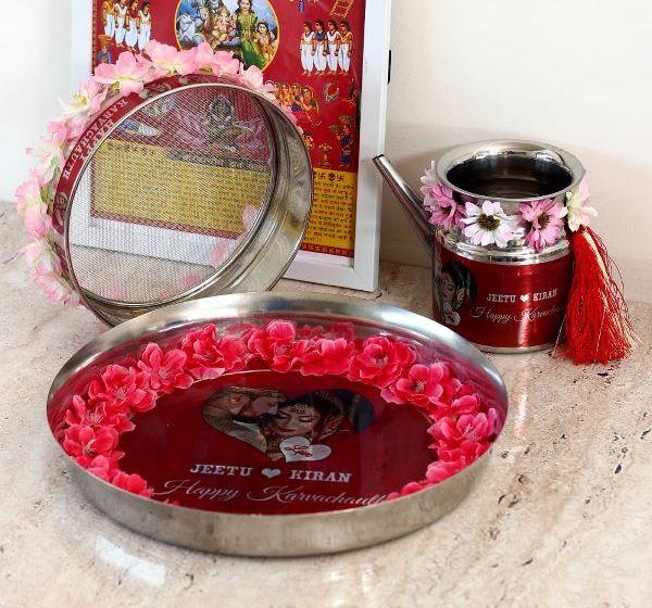 Ferns N Petals' Karwa Chauth gifts and sargi items