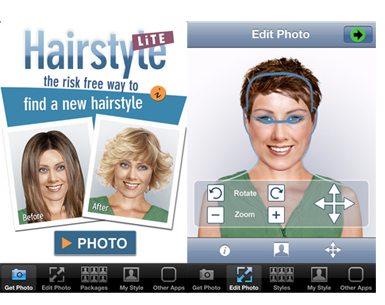 hairstyle beauty app