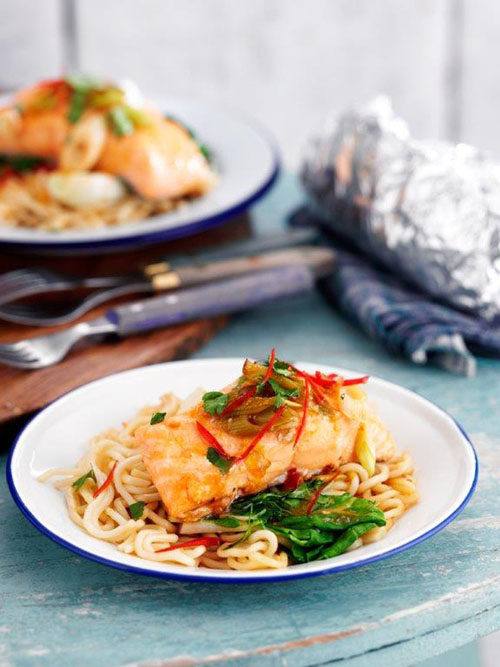 Badger Thai Salmon Noodle post