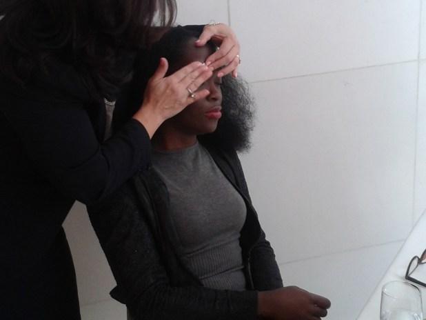Nad's facial wand eyebrow shaper demonstration